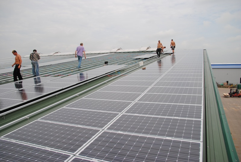 190 kWp Anlage in Goldenstedt
